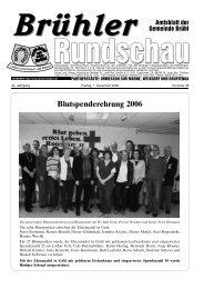 Brühler - Nussbaum Medien