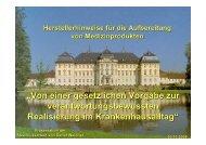 Weidner-Herstellerhinweise für die Aufbereitung 30.10 ... - Akademie