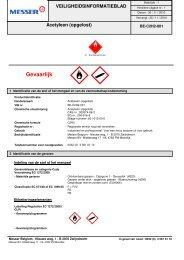 MSDS CLP DPD Acetyleen NL