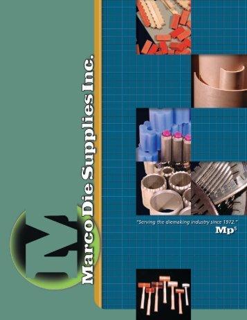 X-Press and Perfect Creasing Matrix - Marco Die Supplies, Inc.
