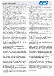 Allgemeine Lieferbedingungen herausgegeben vom ... - ABB