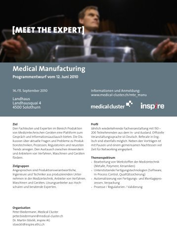 Medical Manufacturing - WKNW