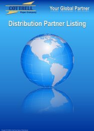 Distribution Partners 2010 - Cottrell Paper
