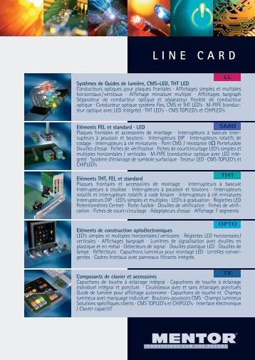 LINE CARD - Mentor