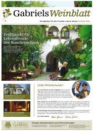 Treffpunkt für Lebensfreude: Der Buschenschank - Weingut Gabriel