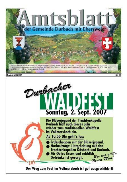 Das Original Entenrennen bleibt ein Favorit - Durbach