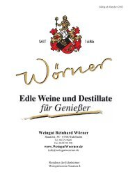 Weingut Reinhard Wörner