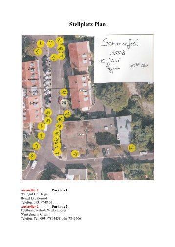 Stellplatz Plan Komplett - Markttreff Keesburg