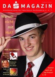 DA MAGAZIN - Sparkasse Rothenburg