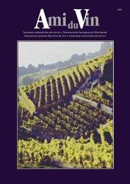 Nr. 1/2010 - Schweizerische Vereinigung der Weinfreunde