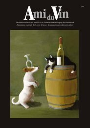 Nr. 1/2011 - Schweizerische Vereinigung der Weinfreunde