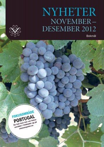 De portugisiske områdene vi lanserer viner fra