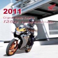 125cc Leichtmotorräder - Honda