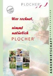 Plocher Produktkatalog Landwirtschaft - SOLARier