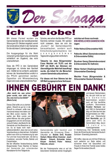 Kindergeld für alle Abfertigung neu - Gemeinde Deutsch Schützen ...