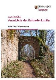 Kreis Südliche Weinstraße - Generaldirektion Kulturelles Erbe ...