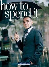 how to spend it 7 - Financial Times Deutschland
