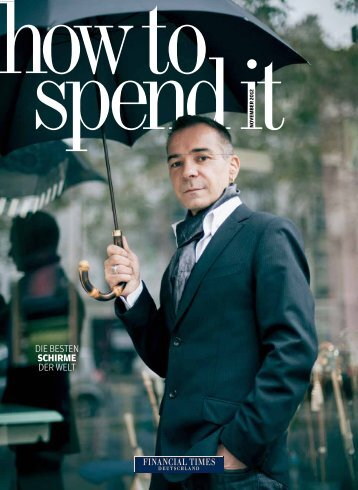 how to spend it 7 - Financial Times Deutschland