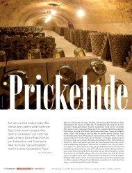 Prickelnde Freude - Petra Bader - Weinberatung