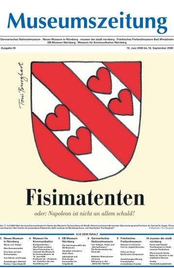 Ausgabe 26: 10 Juni 2008 - Museumszeitung für Museen in und um ...