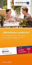 """""""Rheinhessen probieren"""" - ORN Omnibusverkehr Rhein-Nahe GmbH"""