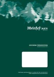 GeSchenK PräSentAtion - Weinhof Auer