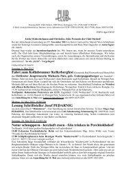 herzhaft essen - Der Club Osttirol in Wien