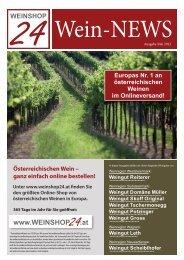Wein News - WEINSHOP24.at