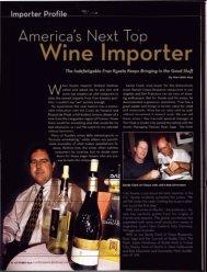Wine Importer