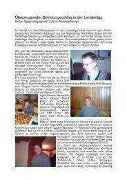Kitzingen I mit erstem Erfolg in der Landesliga - Schachclub ...