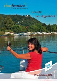 Download Churfranken-Urlaubskatalog 2013
