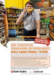 Active Capital Inflation 12/2026. - Bank Austria