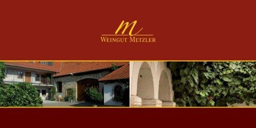 das ultimative partygetränk - Weingut Reinhard Metzler