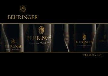 Aktuelle Preisliste - auf der Seite des Weinguts und Weinhauses ...