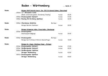 Unser Weinbuch - Das Weiße Haus