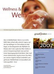 Wellness & - Wein Fläsch