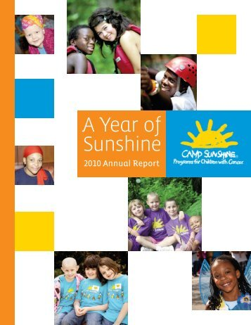Our Mission - Camp Sunshine
