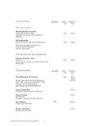 rotwein - Mövenpick Restaurants