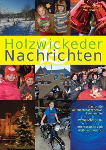 Ausgabe 6 / 2012 Weihnachten - mediaoffensiv