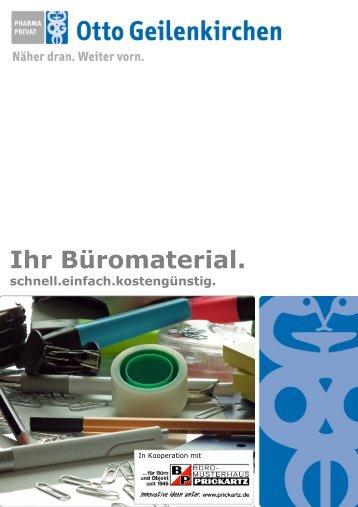 Flyer Büromaterial - Otto Geilenkirchen