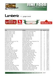 Lambertz - Fine Food International