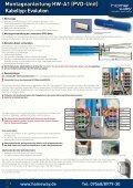 Montageanleitung HW-A1 (PVD-Unit) Kabeltyp: Multivision - Homeway - Seite 2