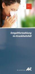 Entgeltfortzahlung im Krankheitsfall - AK - Tirol