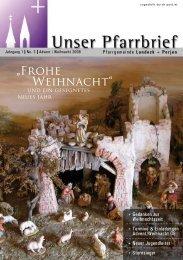 Weihnachten 2008 - Pfarren Landeck