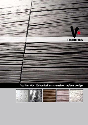 Kreatives Oberflächendesign - creative surface design - Quick Berlin ...