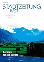 Mittwoch, 28.09.11 - Stadtgemeinde Imst - Land Tirol
