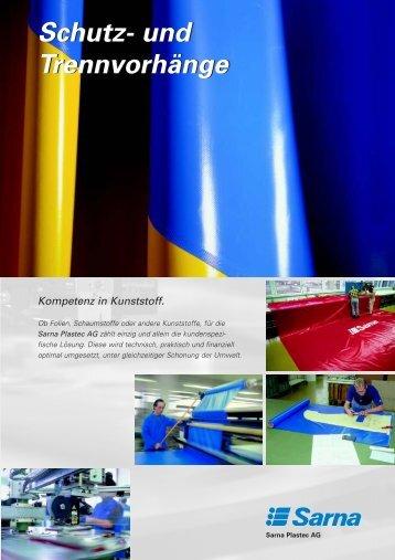 Schutz / Trennvorhänge - Sarna Plastec