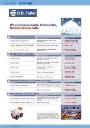 Dichtstoffe - HOSTRA Gummi und Kunststoffe GmbH