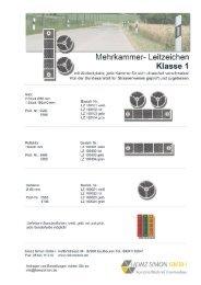 Reflektor Klasse1.pdf - Heinz Simon GmbH