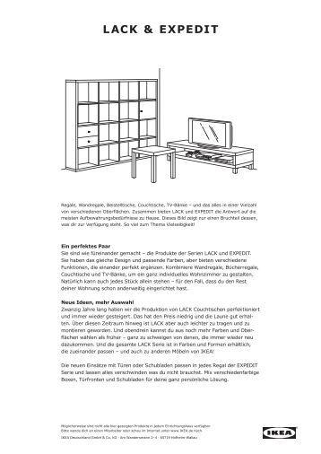 LACK & EXPEDIT - Ikea